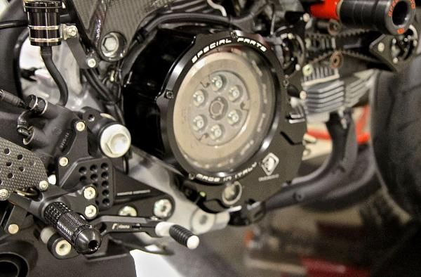 Ducati Monster  Wet Clutch Check