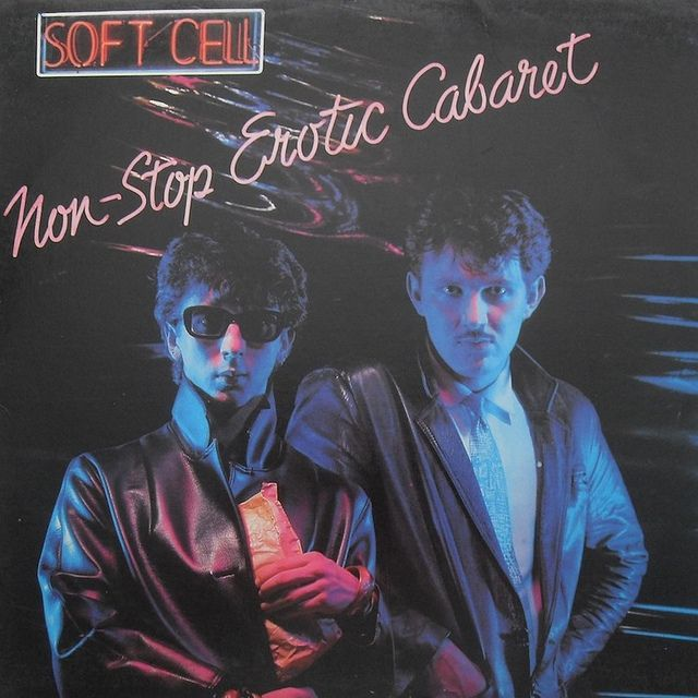 1981 SOFT CELL Non Stop Erotic Cabaret LP vintage vinyl record album cover 1 by Christian Montone, via Flickr