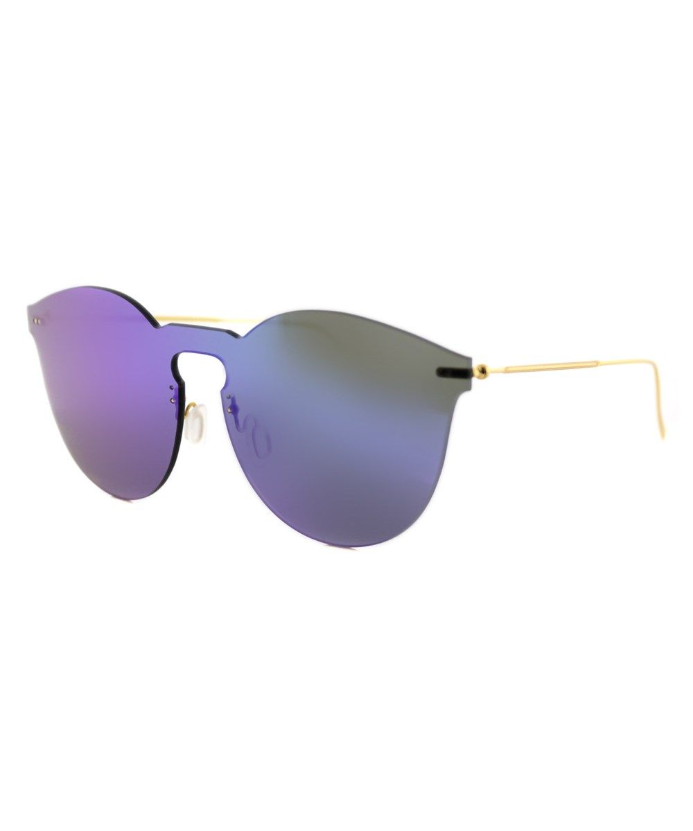 59498ba6212 ILLESTEVA Leo 2 Mask Round Plastic Sunglasses .  illesteva  sunglasses