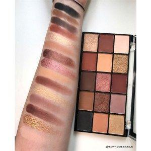 makeup revolution reloaded palette velvet rose  makeup