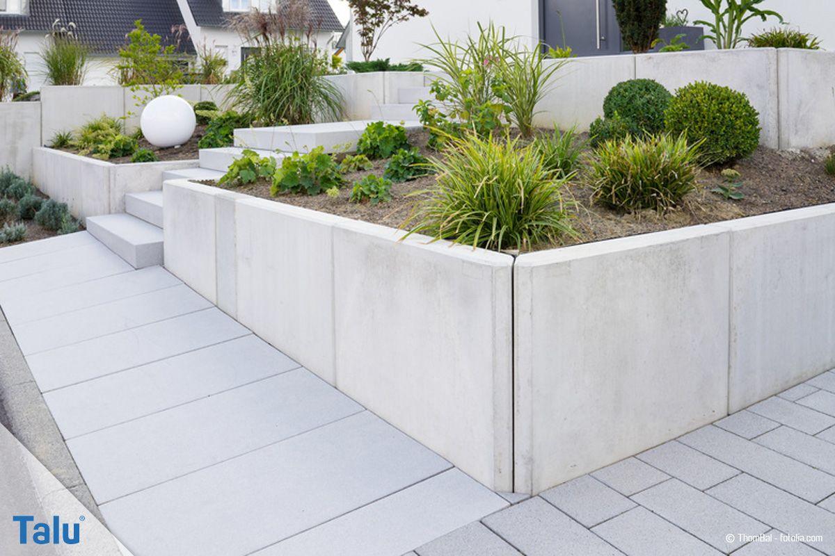 Photo of Vinkelsteiner, betong L-steiner – priser + instruksjoner for innstilling – Talu.de