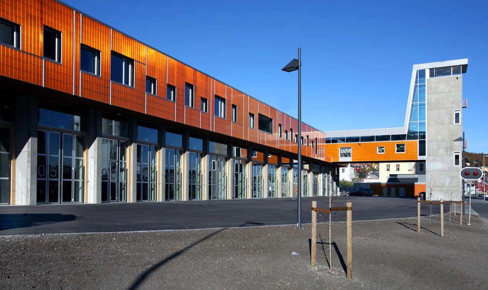 Tromso Firestation Stein Halvorsen Arkitekter Cool Fire