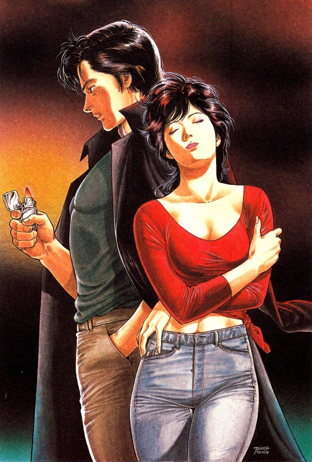 City Hunter By Tsukasa Hojo Nicki Larson City Hunter Vieux Dessins Animes
