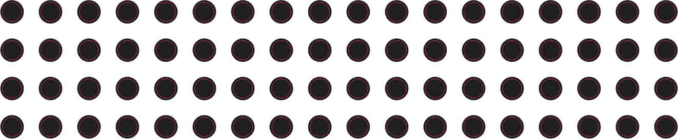 Black 1/8inCamera Dots Webcam Cover Black 1/8in Camera Dots Design: There are 68small 1/8 inch, black dots. They are designed to cover the lens of your