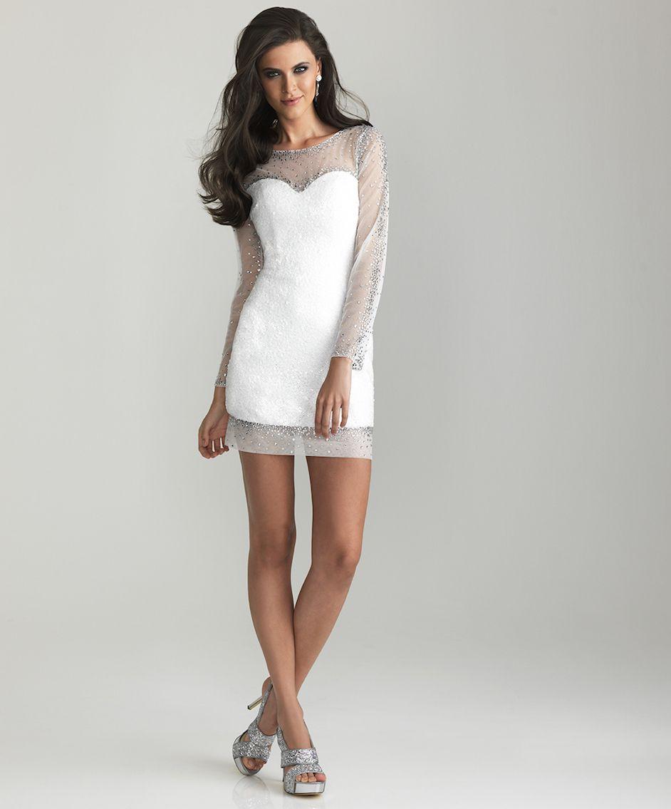 25 schöne Abendkleider für Frauen | Weiße kleider kurz