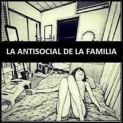 La antisocial de la familia >the antisocial of the family