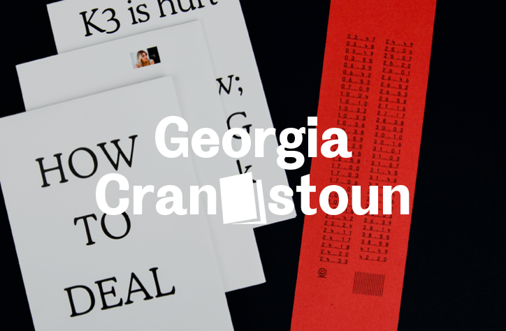 Georgia Cranstoun's process-driven style tests the rules of