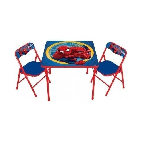 Kids-Table-Chairs-Set-Spiderman-Small-Children-Furniture-  sc 1 st  Pinterest & Kids-Table-Chairs-Set-Spiderman-Small-Children-Furniture-Kid-Child ...