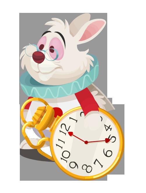 Sem Fundo Branco Png Alice Rabbit White Rabbit Alice In Wonderland Disney Alice