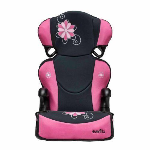 Evenflo Car Seat High Back Booster Baby Infant Toddler Big Kid Safety Pink