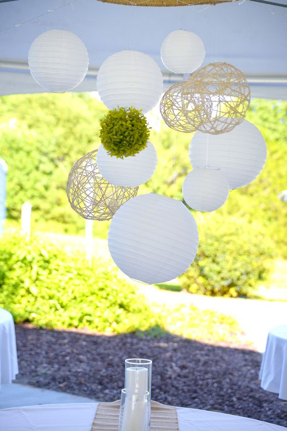 Paper Lanterns Dollar Tree Stunning Made With A Dollar Tree Hula Hoop Wrapped With Twinewhite Paper Design Ideas