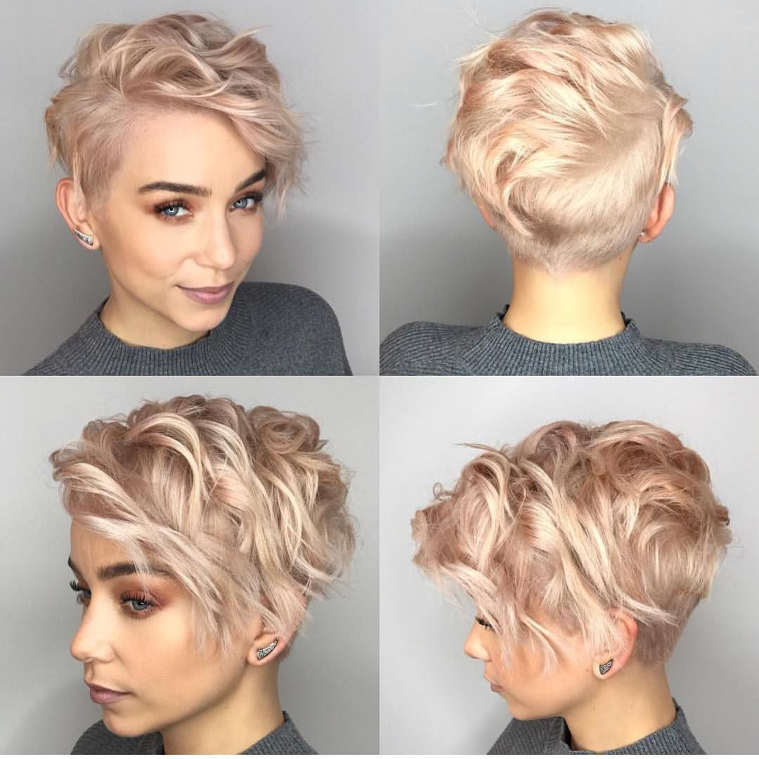 10 Stylish Pixie Haircuts in Ultra-Modern Shapes, Women Hairstyles 2019 #shortpixie
