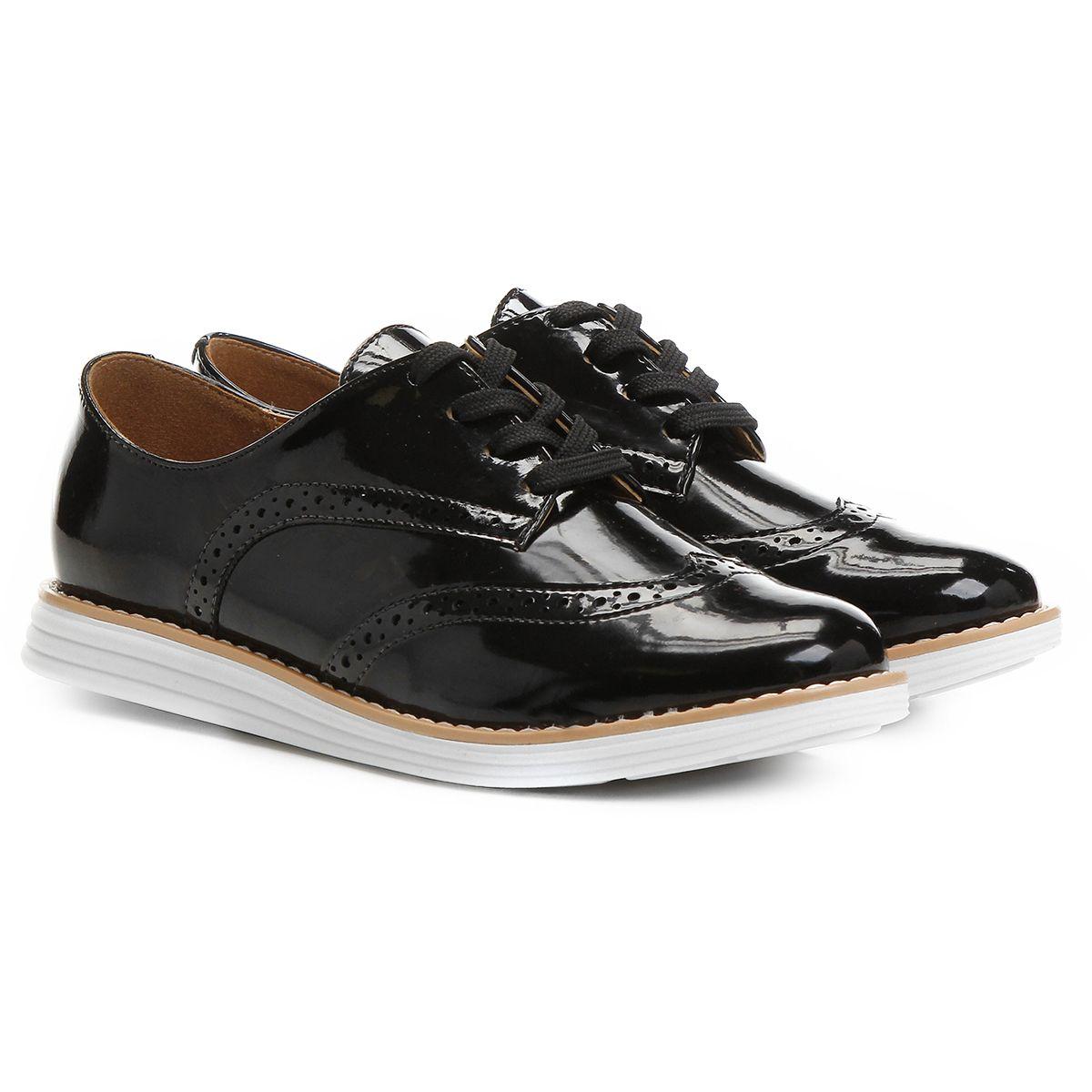 4e1c3b49af Compre Oxford Vizzano Broguês Preto na Zattini a nova loja de moda online  da Netshoes. Encontre Sapatos