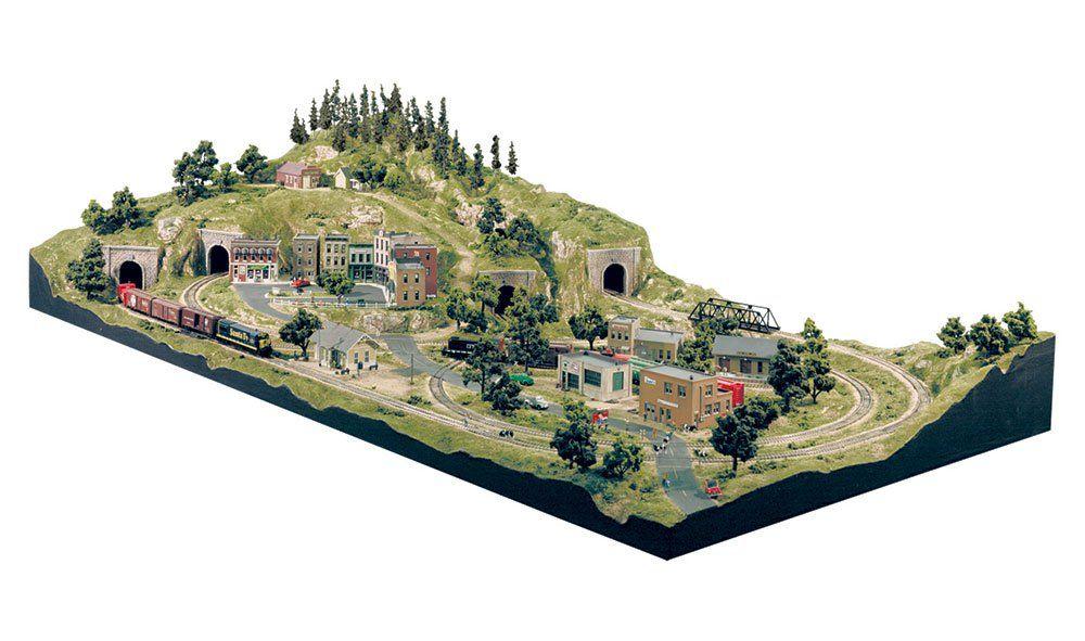 Grand Valley HO Scale Layout Kit - Layout Kits - Woodland