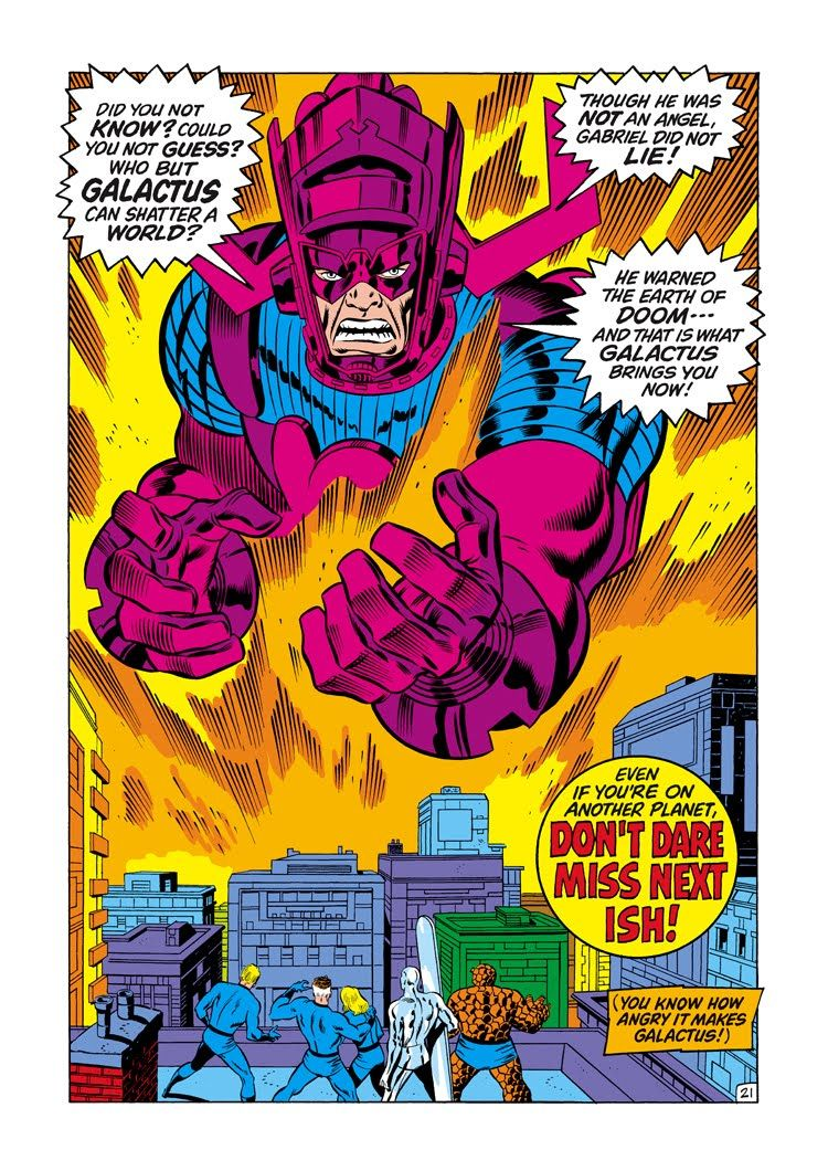 Fantastic Four #121