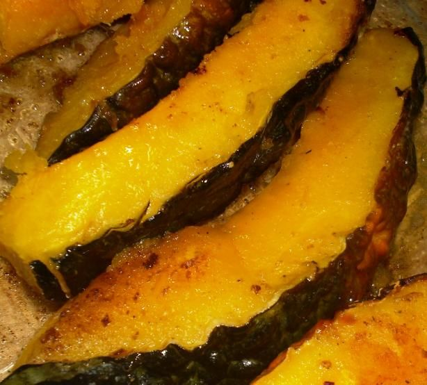 Grilled Pumpkin With Rosemary and Sea Salt. Photo by Karen Elizabeth