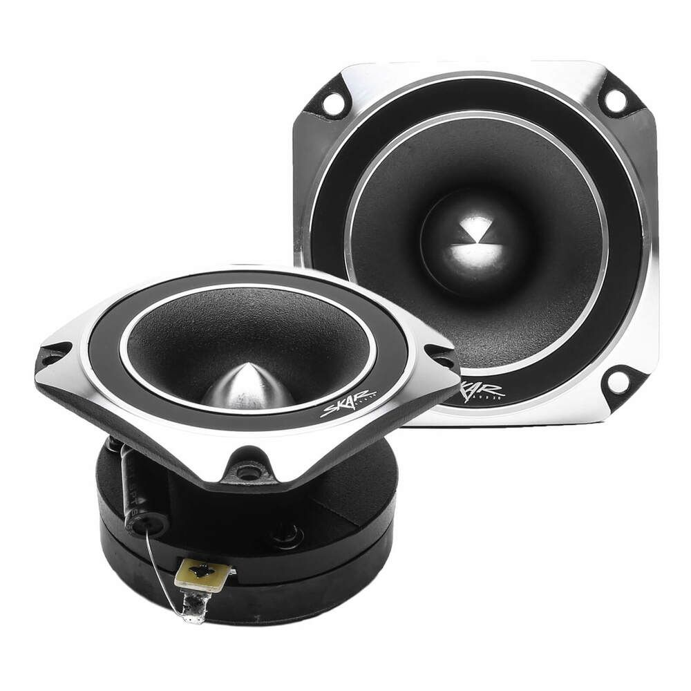 New Skar Audio Vx35 St 3 5 Inch 500 Watt Titanium Bullet Super Tweeters Pair Tweeter Car Audio Skar