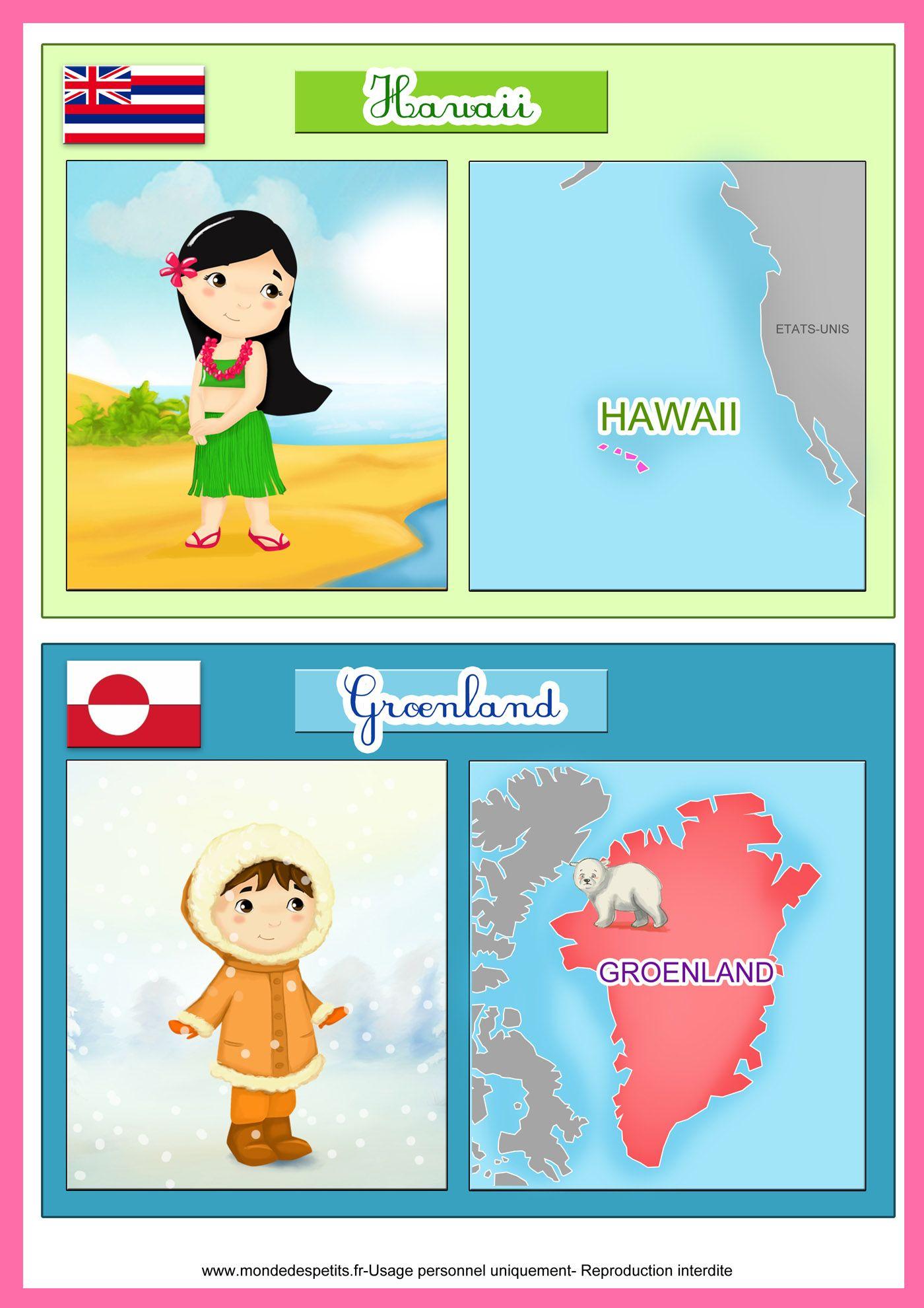 Les pays du monde et leurs drapeaux de det pinte - Carte du monde a imprimer gratuite ...