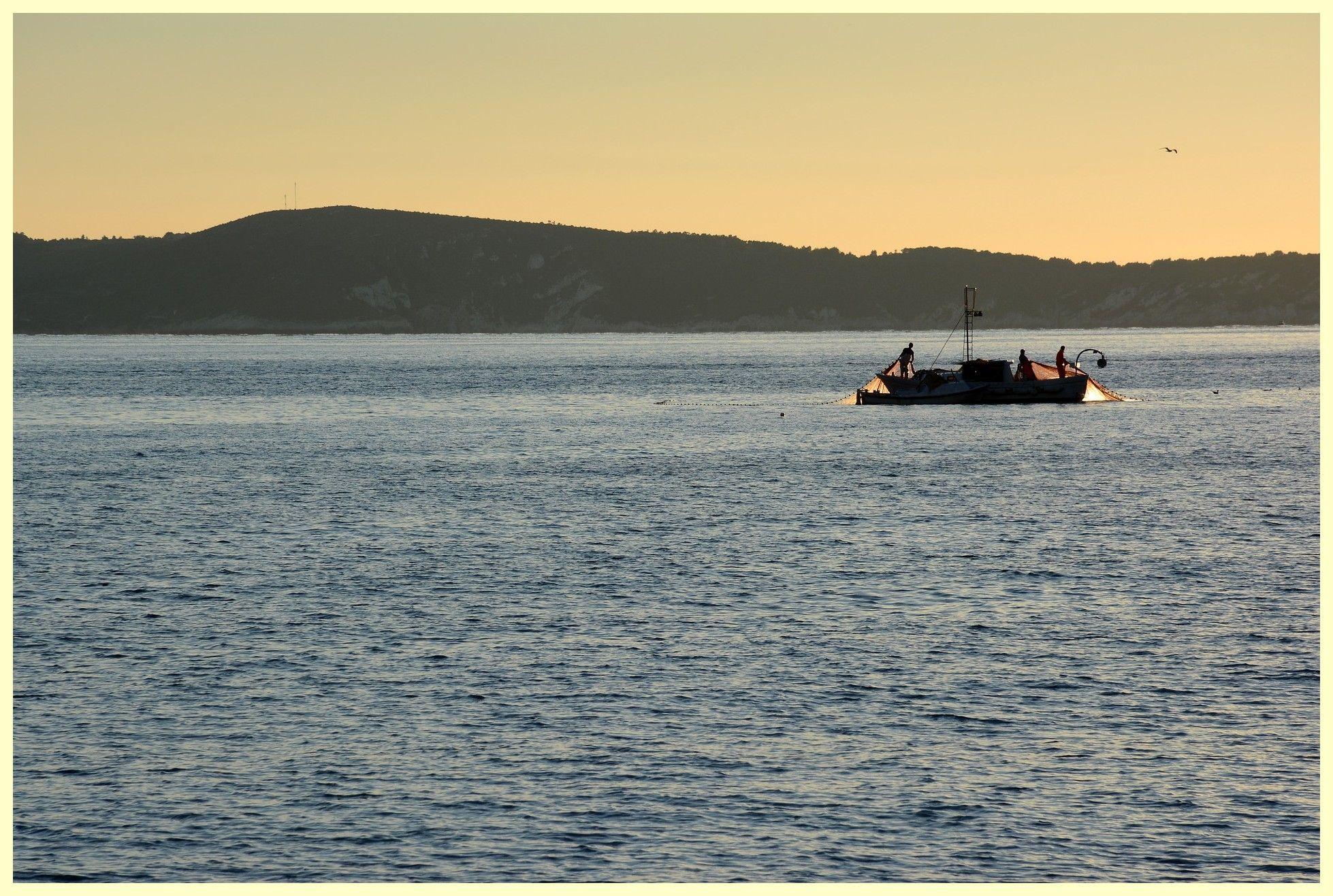 Fishermen Adriatic Croatia