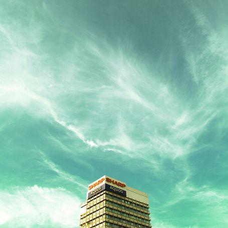 Cyan skies