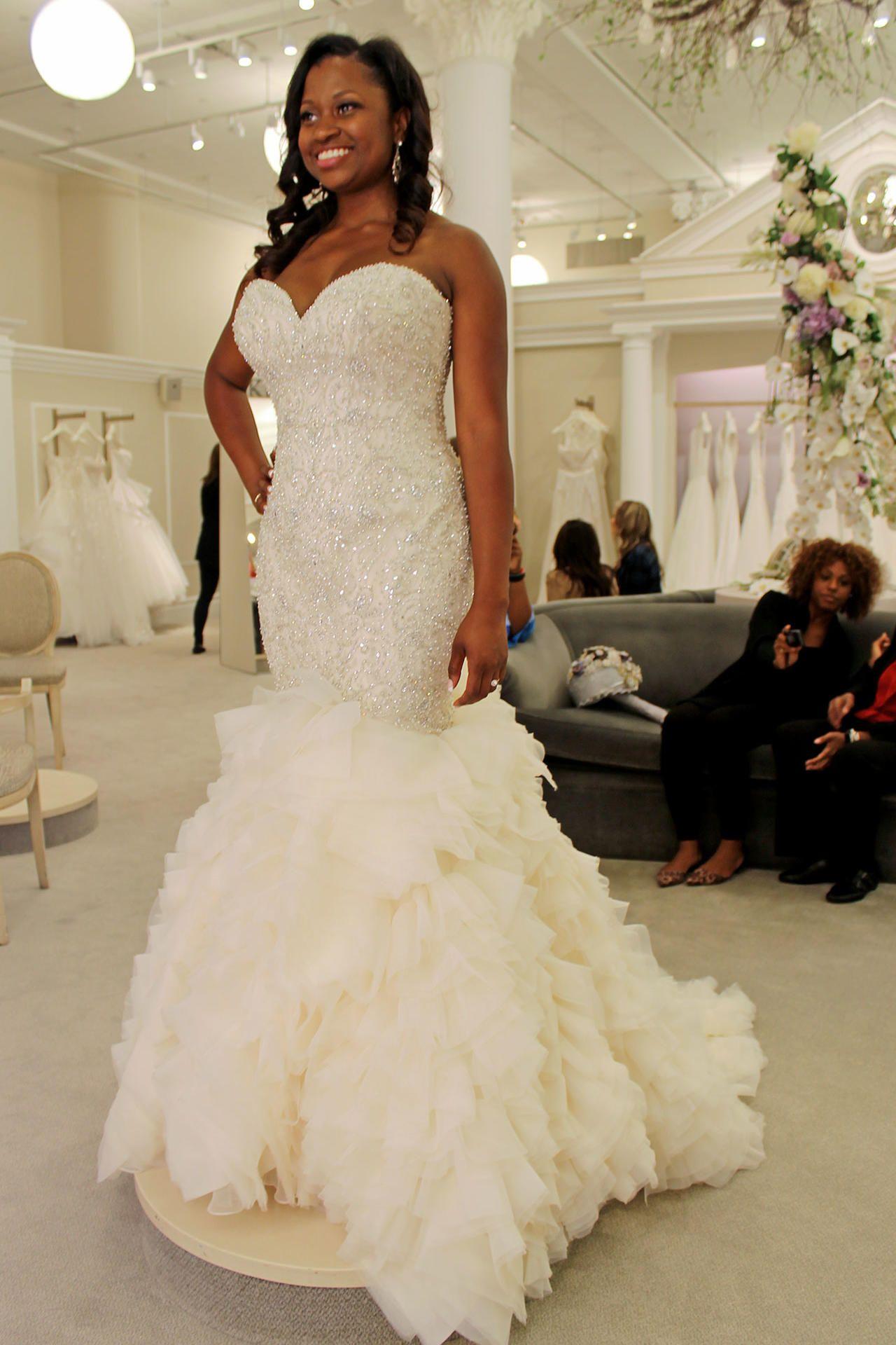 Season 14, Featured Dresses | Beaded top, Wedding dress and Wedding