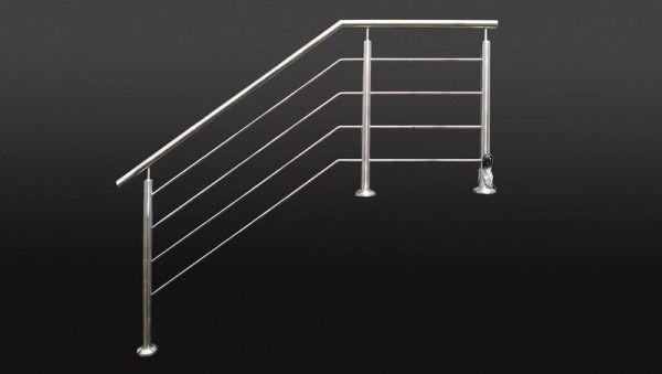 led reling gel nder aus edelstahl railings with led lighting led gel nder pinterest. Black Bedroom Furniture Sets. Home Design Ideas