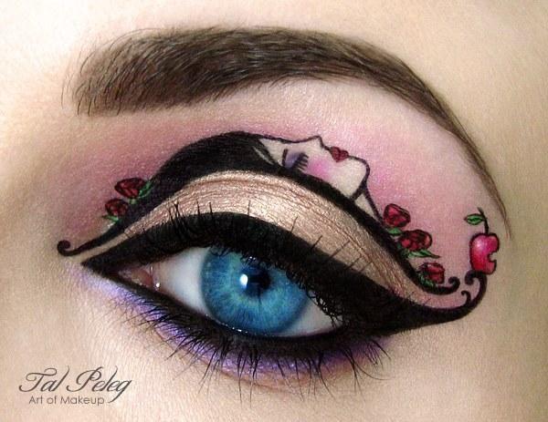 Artist Merges Makeup Illustration In Cool Eye Designs Creative Eye Makeup Eye Makeup Art Makeup Illustration