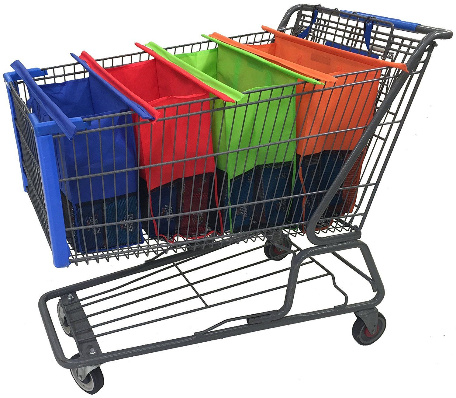Amazon.com: Shopping Cart Trolley Bags by: Modern Day LivingTM - 4 ...