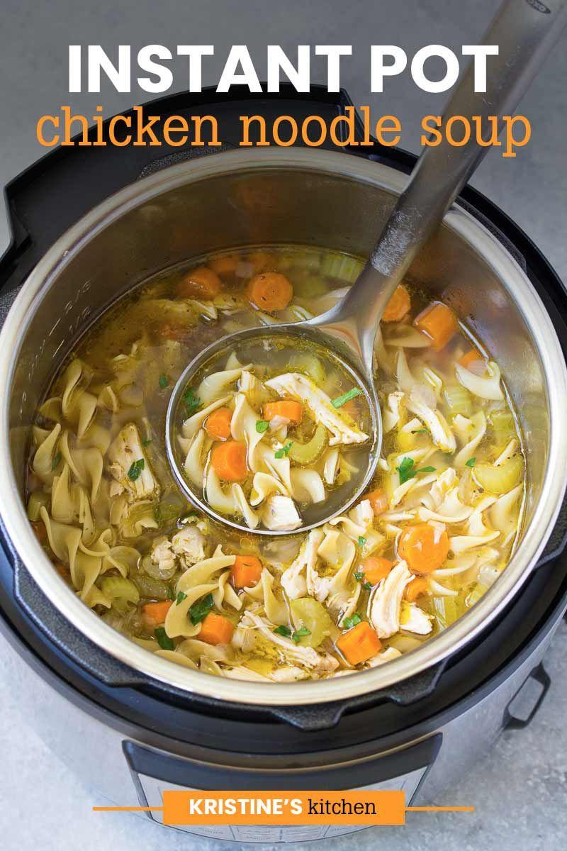 Chicken Soup Instant Pot Recipe