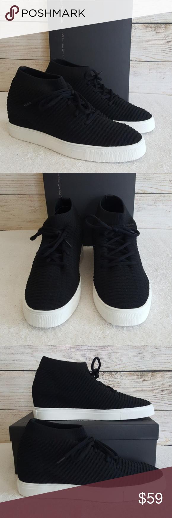 ee2e15d97815 New Steven by Steve Madden Carin Wedge Sneaker New... never worn 2.5