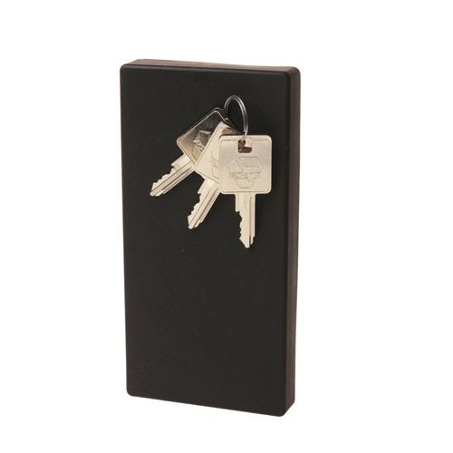 Boîte à clefs en acier noir aimantée Honey I'm Home Eno Studio 26 €