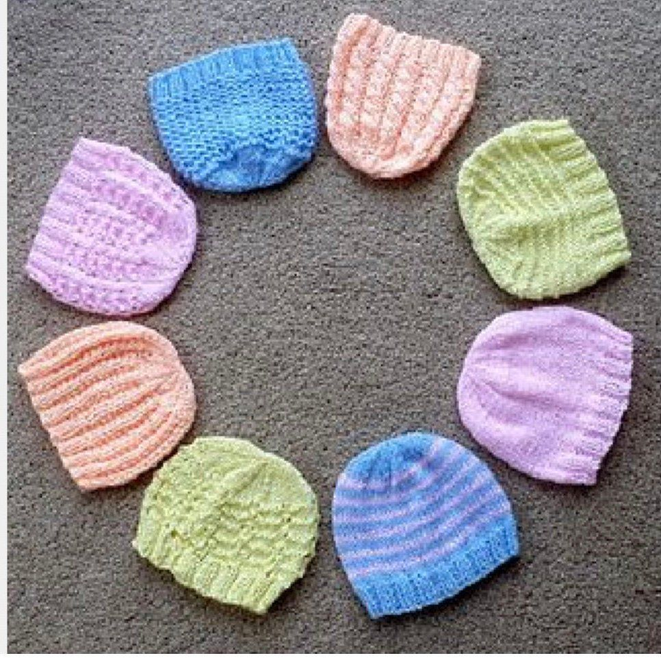 free knitting patterns for micro preemies