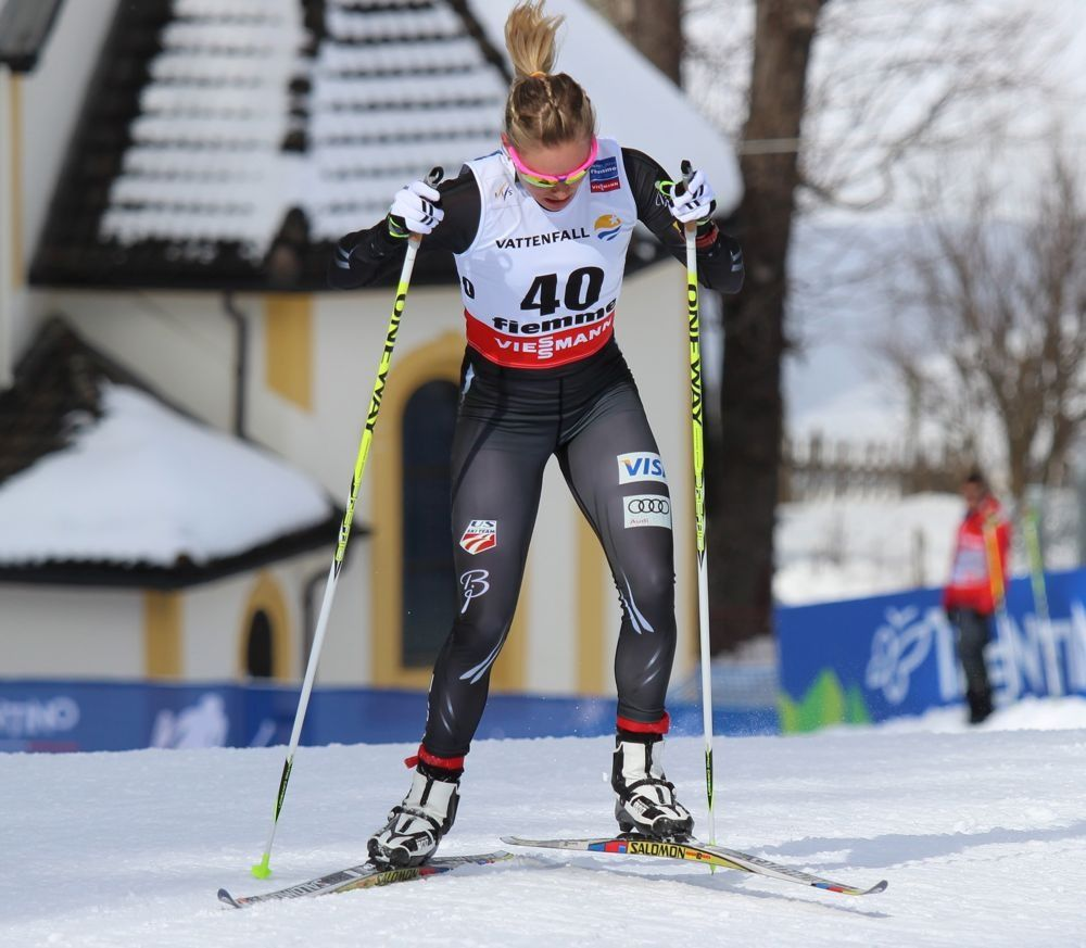 Thestylebaroudeur Nordic Skiing Ski Girl Cross Country Skiing