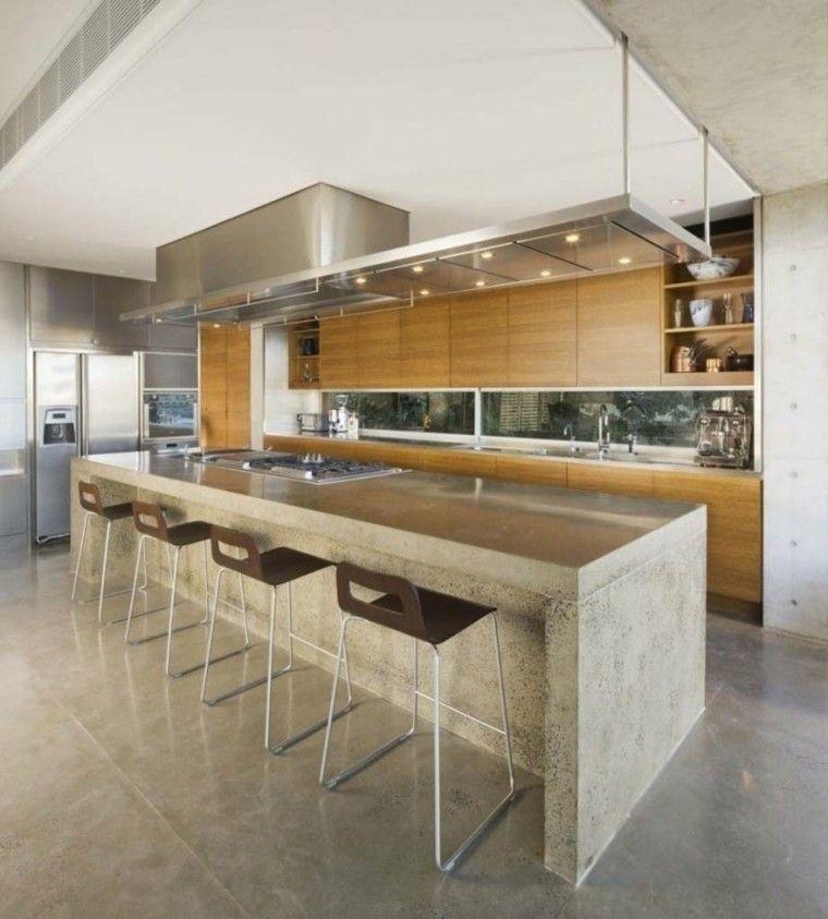 Hormigon como elemento decorativo de interiores | Ideas para ...