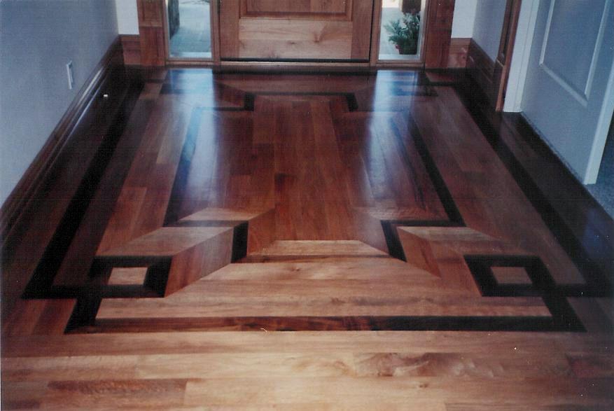 Pattern Hardwood Floor Decoration Basement Remodel Diy Wood Floor Pattern Flooring