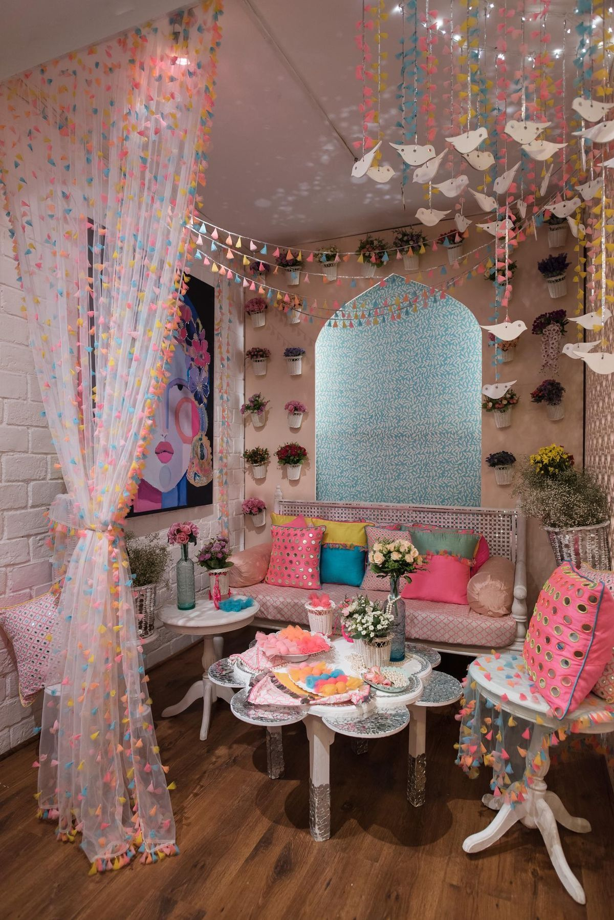 Pin by Timepass on GOOD VIBES Colourful living room