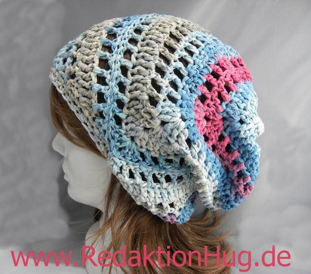 Häkeln - Triagon-Mütze aus Pastello von Pro Lana | Häkeln ...