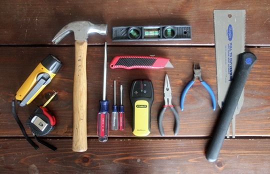 The Basics 10 Must Have Essentials For A Small Space Toolkit Basic Tool Kit Small Tool Box Small Spaces