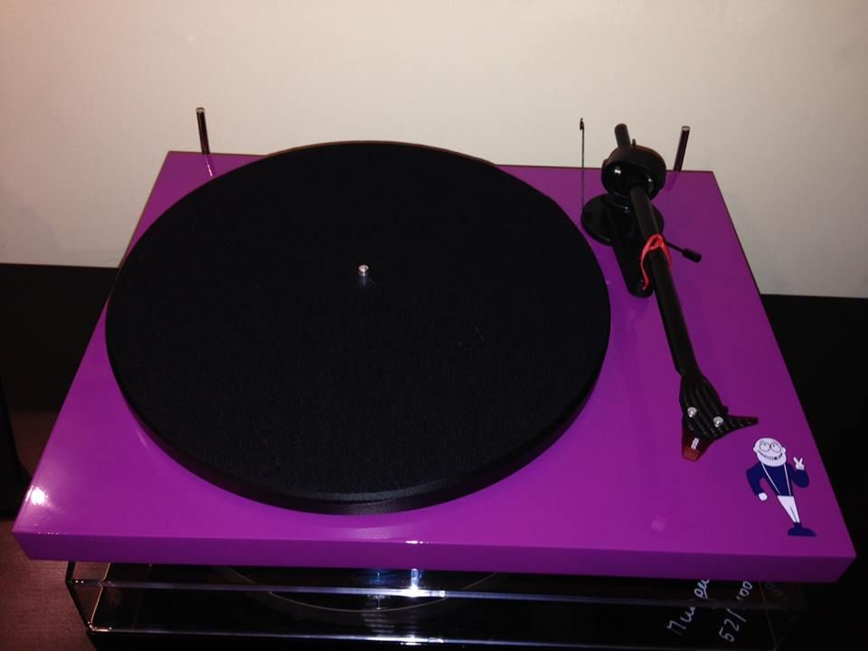 Dinosaur Jr Custom Pro Ject Debut Carbon Turntable Dinosaur Jr Turntable Rare Vinyl