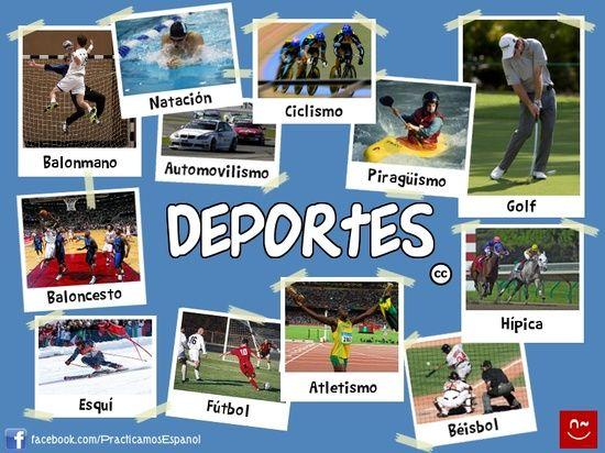 Vocabulario de los deportes