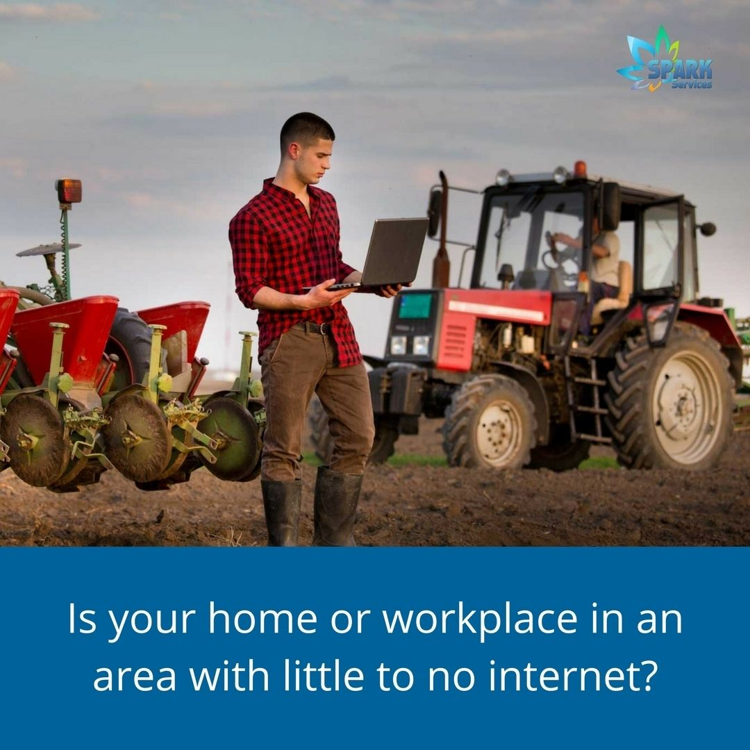 You can now connect to the web in rural areas that lack ...