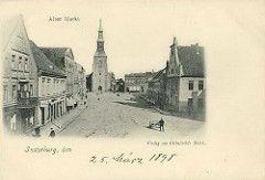 Insterburg, Alter Markt, 1898