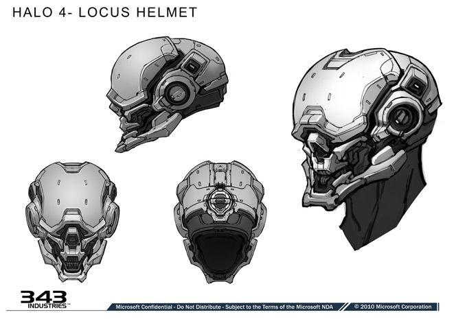 Fabulous Halo Concept Art uLocus Helmet u by Kory Lynn Hubbell