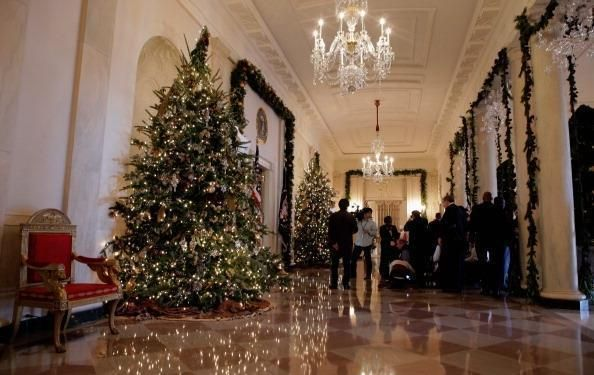 See Photos of the White House Christmas Decorations White house