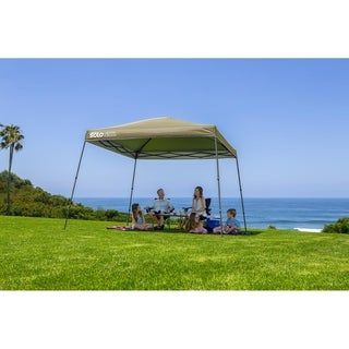 Solo Steel 90 11 X 11 Ft Slant Leg Canopy Khaki N A Canopies Tan Quik Shade Canopy Midnight Blue Shades