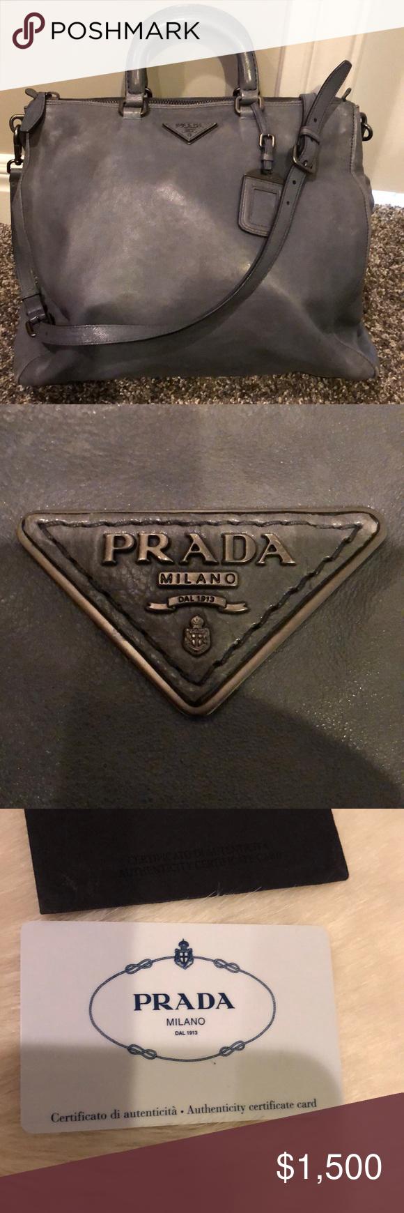 Photo of Authentic Prada handbag Authentic Prada handbag with Authenticity certificate ca…
