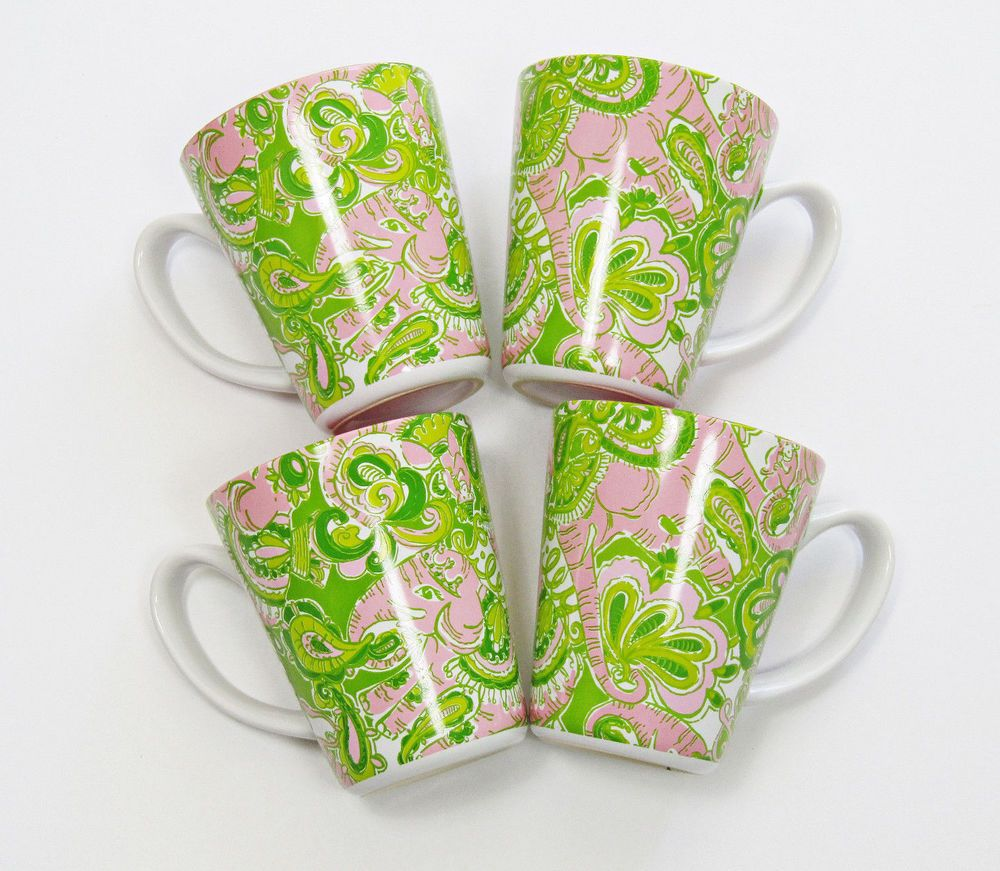 Details about lilly pulitzer coffee tea mug lead a