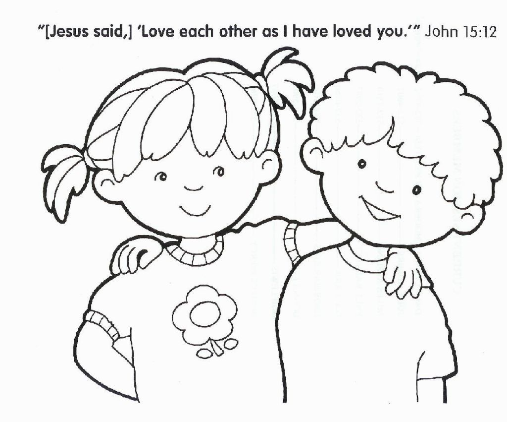 Christian Coloring Pictures