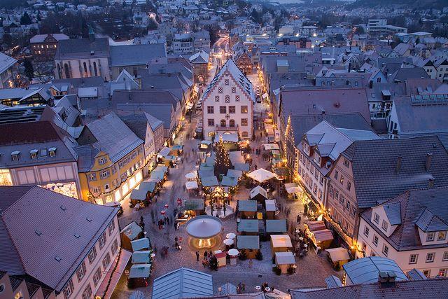 Weihnachtsmarkt Bad Mergentheim Romantic Road Germany Places Around The World Places To Visit