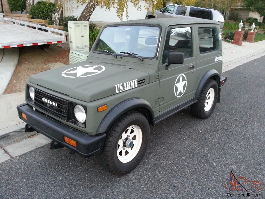 This 1987 Suzuki Samurai JX 4x4 is 100 rust free and runs